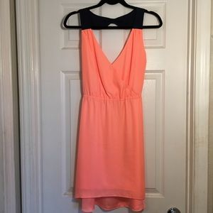 American Eagle Outfitters Coral Mini Dress
